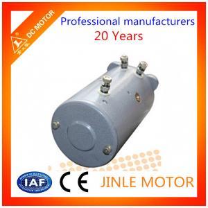 1500 Watt IP54 Hydraulic DC Motor , 114mm Small 12 Volt Dc Motors With Carbon Brush