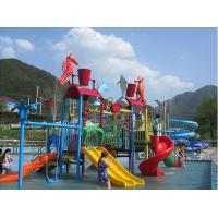 Water Entertainment Kids Water Playground , Summer Fun Water Park 50 People