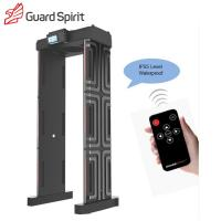 Quality 6 / 12 / 18 Zones Full Body Metal Detector Gate For Exhibition Hall Security wholesale