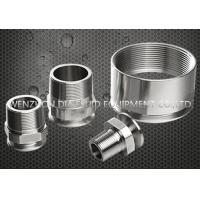 "Quality Tp304 / Tp316L 21MP NPT Male Hexagon Clamp Adapter 3/4"" - 4"" For Beer Industry wholesale"