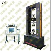 Best 200KN Electronic Universal Testing Machine (double space) tension, compression, bending testing for rubber, plastic, thi wholesale
