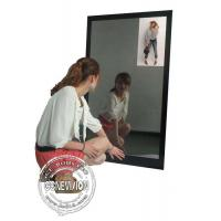 Best 13.3 Inch Magic Mirror Advertising Player , Bathroom Body Motion Sensor Mirror Media Player Android wholesale