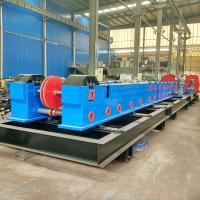 Buy cheap Customize Metal Cable Support System / Solid Cable Tray Making Machine 20 Stations from wholesalers