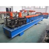 Best PLC Glazed Tile Roll Forming Machine Hydraulic Press 5.5KW 1.2 Inch Single Chain wholesale