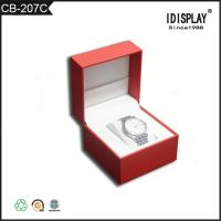 Quality Red Luxury Handmade Cardboard Gift Boxes / Women Watch Presentation Box  Classical Design wholesale