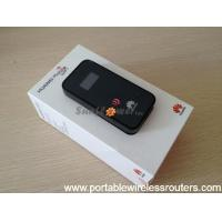 Quality 21Mbps Pocket Wifi Router Huawei E586E 3G Wifi Router with OLCD screen wholesale
