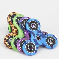 Best Fashionable Stress Relief Fidget Spinner With Ceramic Bearing , Camouflage Series wholesale
