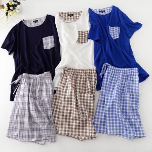 2017 new design cotton fabric pajamas for women