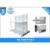Cheap Heavy Duty Metal Shelving Units With Wheels for sale