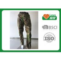 Best Windbreak Hunting Camo Pants Thermal  100% Polyester For Running / Fishing wholesale