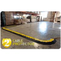 Best 1000 * 250 * 50mm 2 Channel Cable Protector Ramp Heavy Duty For Outdoor Event wholesale