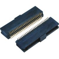 Double Low 44-60 Pins , 10 Pin Header SMT Female Pin Headers With Cap  LCP Plastic