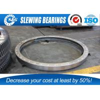 Small Crane Slewing Bearing Ring Compact In Structure And Light