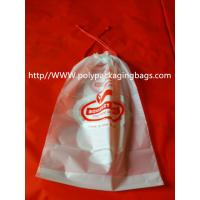 Quality Moisture Resistant Drawstring Plastic Bags / Drawstring Storage Bags wholesale