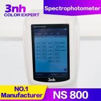 Quality Chroma Meter Portable Color Measurement Equipment NS800 Optical Geometry 45/0 Color Tester wholesale