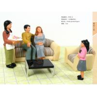 Quality FP25-4 indoor 1:25 Architectural Scale Model People Painted Figures 7cm wholesale