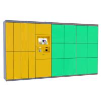 Best Self Service Laundry Dry Locker , Electronic Smart Storage Doors The Cleaning Locker wholesale
