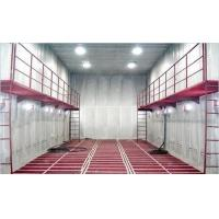 Quality Manual Sand Blasting Room / Booth Heavy Duty With Screw Recycling System wholesale
