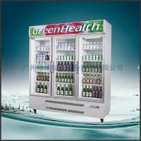 Quality Stainless Steel Upright Commercial Display Freezer Tecumseh Compressor -25°C  3 Doors wholesale
