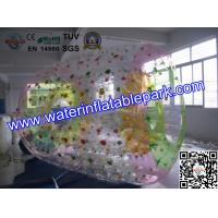 Quality Giant Inflatable Roller Ball , 1.0mm PVC Inflatable Zorb Ball For Beach Sport wholesale