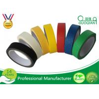 Best Colorful Silicone Adhesive Colored Masking Tape Low Tack Without Residue wholesale