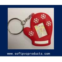 Quality Eco-firendly Rubber Silicone Soft PVC Picture Frame Key Chains for Promotional Gifts wholesale