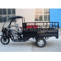 Professional Custom Cargo Motor Tricycle , Covered Motorcycle Three Wheel
