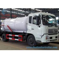 Buy cheap 12000L Dongfeng Diesel Sewage Suction Truck 4 X 2 with DFL1160BX Chassis from wholesalers