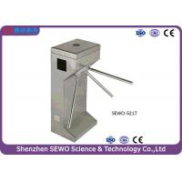 Best Half height Vertical Tripod Turnstile Gate with 304 Stainless Steel for pedestrian wholesale