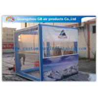 Best OEM Inflatable Transparent Tent With Removable Walls & Roof for Temporary Storage Shed wholesale