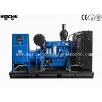 Quality High Voltage Accuracy 120KW Open Type Diesel Generator With Good Compact Layout wholesale