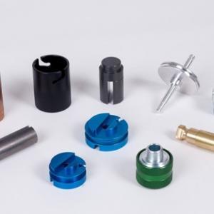 Small Custom Machined Aluminum Parts , CNC Aluminum Parts Baking Painting