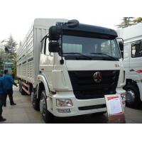 Quality SINOTRUK HOHAN 8X4 Heavy Cargo Truck in White , 50 Ton Load Capacity wholesale