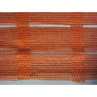 Quality Anti UV Industrial Safety Netting For Construction Plant , Orange And White wholesale