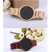 Quality Fashion Charming Bewell Mens Wooden Watch 100% Natural Wood With Miyota 2035 wholesale