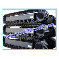 factory offered high quality steel track undercarriage for construction machinery