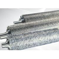 Buy cheap PP ABS Embossing Roller Surface Hardness HRC55~58 , PVC Mirror Roller from wholesalers