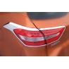 Quality ABS Chrome Tail Car Headlight Covers For Hyundai ix25 2014 Rear Light Rim Decoration wholesale