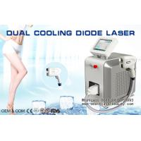 Buy cheap Dual Cooling Diode Laser Hair Removal Machine / 808nm Diode Laser For Distributors from wholesalers