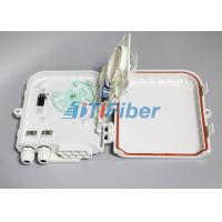 Best 1*8 PLC Fiber Splitter Box  Wall Mounted Outdoor Distribution Box wholesale