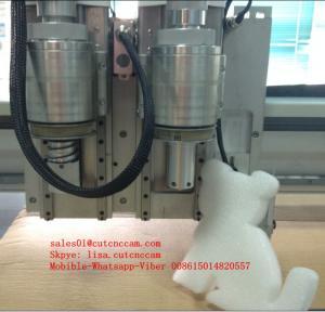 High Speed 50mm EVA Foam Flatbed Digital Cutting Machine Smooth Cutting