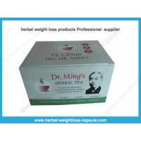Quality Effective Weight Loss Product Te Chino Dr Ming's Herbal slimming Tea 60 bags wholesale