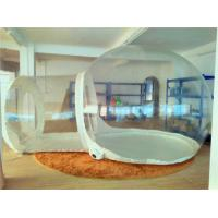 Quality Dome Clear Inflatable Outdoor Tent Fire Retardant For Outside Play wholesale