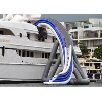 Quality Commercial Grade Inflatable Water Slide, Inflatable Yacht Ship Slide wholesale