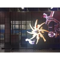 Best Newest P10 indoor Transparent Glass Slim LED Display Screen LED Video Screen for Mall wholesale