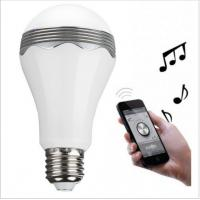 Wireless Bluetooth Smart LED Light Speaker Lamp Music Bulb For Home Office