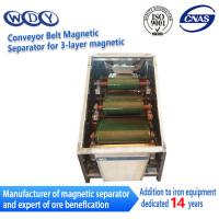 Quality Professional Production Belt Rolls Type Magnetic Separator Machine wholesale