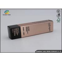Buy cheap Custom Eyeliner Gift Box Packaging With Insert Tray / Cosmetic Paper Box from wholesalers