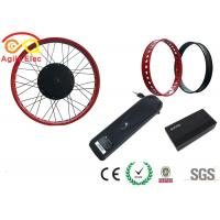 Quality 26 Inch Electric Bike Conversion Kit , Stress Relief Electric Fat Tire Bike Kit wholesale