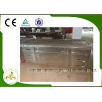 Quality 2.2m Teppanyaki Grill Table Electric Tube Heaters Fume Down Exhaust Multi Function wholesale